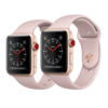 Apple Watch Series 3 LTE 38mm Gold Aluminum Case with Pink Sand Sport Band – MQJQ2
