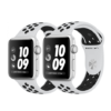 Apple Watch Nike+ 38mm Silver Aluminum Case with Pure Platinum/Black Nike Sport Band – MQKX2