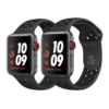 Apple Watch Nike+ 38mm LTE Space Gray Aluminum Case with Anthracite/Black Nike Sport Band – MQL62